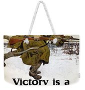 World War I: Poster, 1917 Weekender Tote Bag