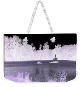 Worlds Smallest Chapel Church Negative Inverted Image Weekender Tote Bag