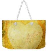 Worn Heart Weekender Tote Bag