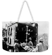 Wounded At The Battle Of Somme - Wwi -- France Weekender Tote Bag