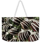 Wrapped In Chocolate Weekender Tote Bag