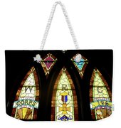 Wrc Stained Glass Window Weekender Tote Bag