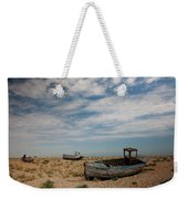 Wrecked Boats Dungeness Weekender Tote Bag