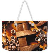 Wrench Tools And Nuts Weekender Tote Bag