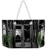 Wrought With Winter Weekender Tote Bag