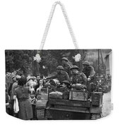 Wwii Liberation Of France Weekender Tote Bag