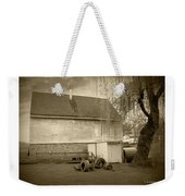 Wye Mill - Sepia Weekender Tote Bag