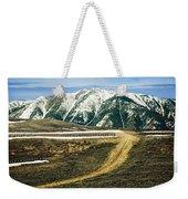 Wyoming Road Weekender Tote Bag