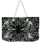 X-ray Diffraction Of Tungsten Tip Weekender Tote Bag