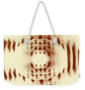 X-ray Diffraction Weekender Tote Bag