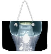 X-ray Of An Energy Efficient Light Weekender Tote Bag