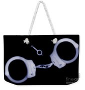 X-ray Of Handcuffs And Keys Weekender Tote Bag