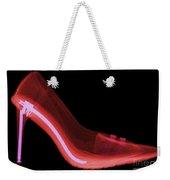 X-ray Of High Heel Shoes Weekender Tote Bag