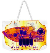 X-ray Of Mechanical Fish Weekender Tote Bag