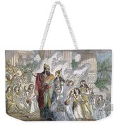 Xerxes I & Esther Weekender Tote Bag