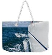 Yacht Lines Weekender Tote Bag