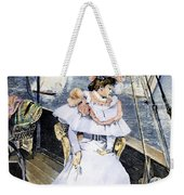 Yachting Costume, 1894 Weekender Tote Bag