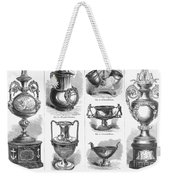 Yachting Trophies, 1871 Weekender Tote Bag