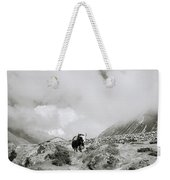 Yak In The Himalaya Weekender Tote Bag