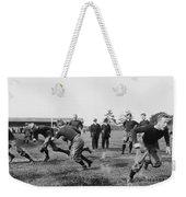 Yale: Football Practice Weekender Tote Bag