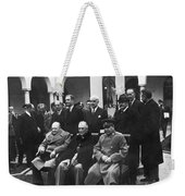 Yalta Conference, 1945 Weekender Tote Bag
