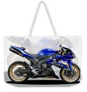 Yamaha R1 Weekender Tote Bag