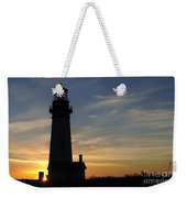 Yaquina Lighthouse Weekender Tote Bag