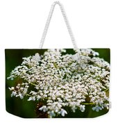 Yarrow Plant Flower Head  Weekender Tote Bag