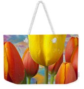 Yellow And Orange Tulips Weekender Tote Bag