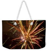 Yellow And Red Fireworks Weekender Tote Bag