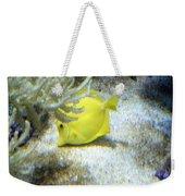 Yellow Angelfish Weekender Tote Bag