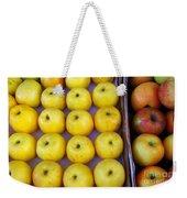 Yellow Apples Weekender Tote Bag