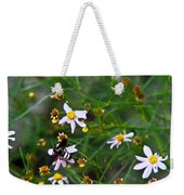 Yellow Banded Black Fly 1 Weekender Tote Bag