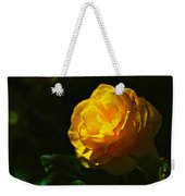 Yellow Bloom Weekender Tote Bag