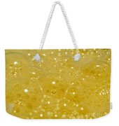 Yellow Bubbles Weekender Tote Bag