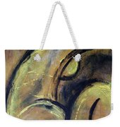 Yellow Caryatid - Nudes Gallery Weekender Tote Bag