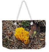 Yellow Coral Mushroom Weekender Tote Bag