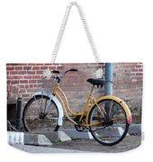 Yellow Cruiser Weekender Tote Bag