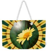 Yellow Daisy Energy Weekender Tote Bag