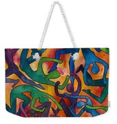 Yellow Dance Weekender Tote Bag