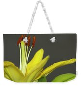 Yellow Day Lily Weekender Tote Bag