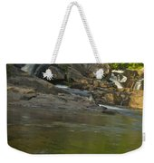 Yellow Dog Falls 4232 Weekender Tote Bag by Michael Peychich