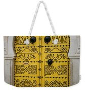 Yellow Door In Bardo Weekender Tote Bag