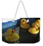 Yellow Rubber Duckies  Weekender Tote Bag