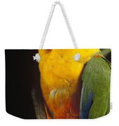 Yellow-faced Parrot Amazona Xanthops Weekender Tote Bag