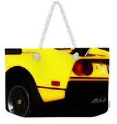 Yellow Ferrari Weekender Tote Bag