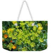 Yellow Firework Or Dill In Its Glory Weekender Tote Bag