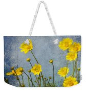 Yellow Flower Blossoms Weekender Tote Bag