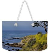Yellow Flowers On The Central California Coast Weekender Tote Bag