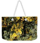 Yellow Flowers On Tree Weekender Tote Bag